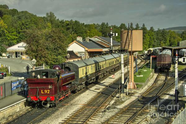 Wall Art - Photograph -  Buckfastleigh Station  by Rob Hawkins