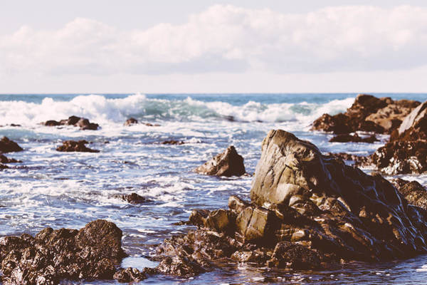 Photograph -  Cambria Leffingwell Cove by Lee Harland