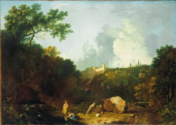 Painting -  Distant View Of Maecenas Villa by Celestial Images