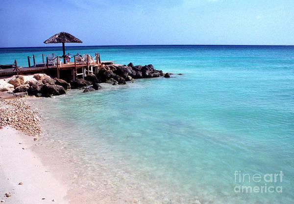Photograph -  Eagle Beach Aruba by Thomas R Fletcher