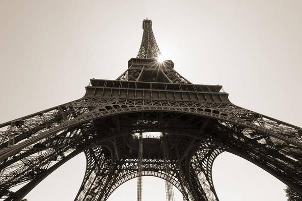 Wall Art - Photograph -  Eiffel Tower by Oscar Gutierrez