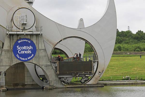 Photograph -  Falkirk Wheel by Tony Murtagh