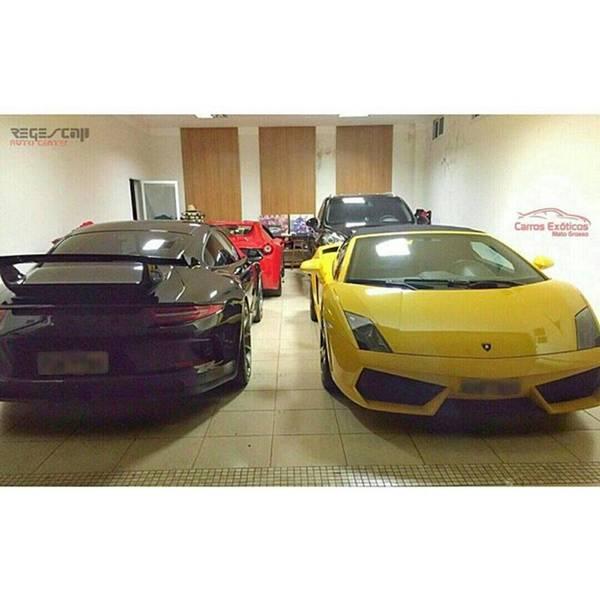 Chevrolet Corvette Photograph - 🏁 Ferrari 458 Spider 🏁 Porsche by Carros Exoticos