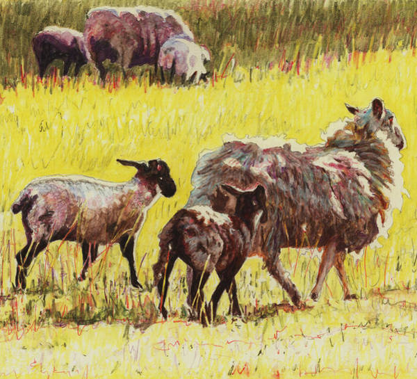 Ram Painting -  Following by Helen White