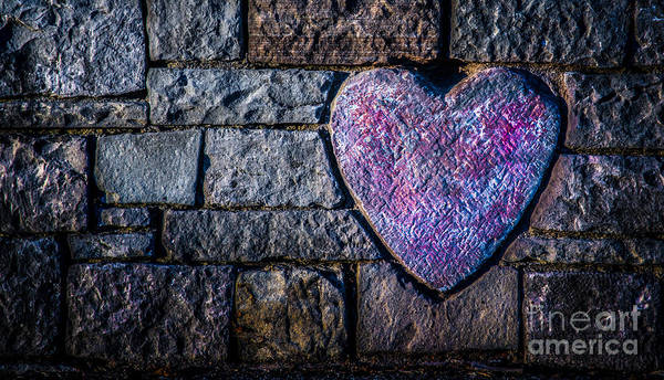 Photograph -  Free My Heart Of Stone by Michael Arend