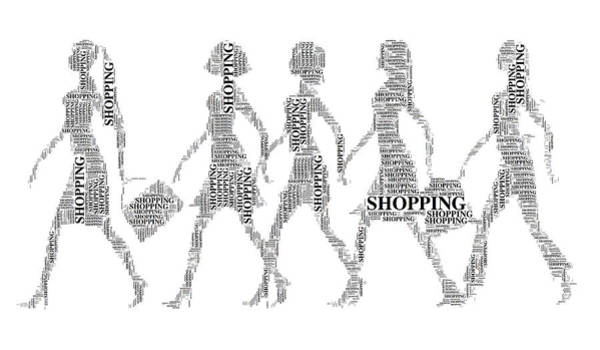 Digital Art -  Go Shopping  by Alice Gipson