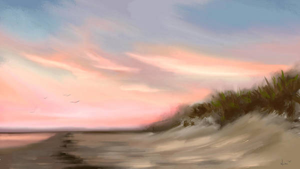 Painting -  Gulf Sunset  by Greg Neal