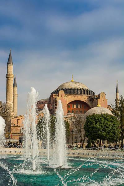Sancta Sophia Photograph -  Hagia Sophia Museum by Michael Patakos