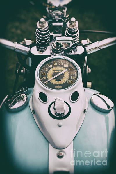 Photograph -  Harley Davidson Wl45 by Tim Gainey
