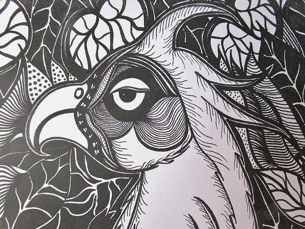 Drawing -  Headshot by Rosita Larsson
