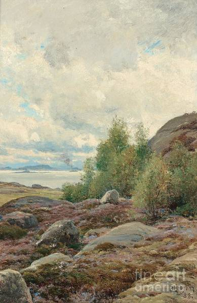 Archipelago Painting -  In The Archipelago. by Celestial Images