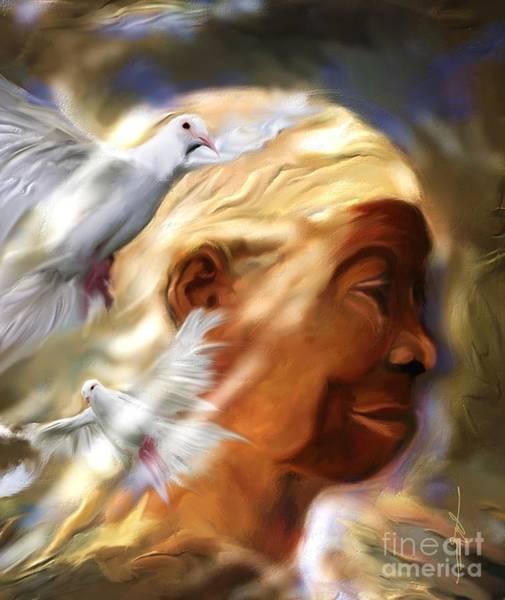Haiti Painting -  In The Spirit by Bob Salo