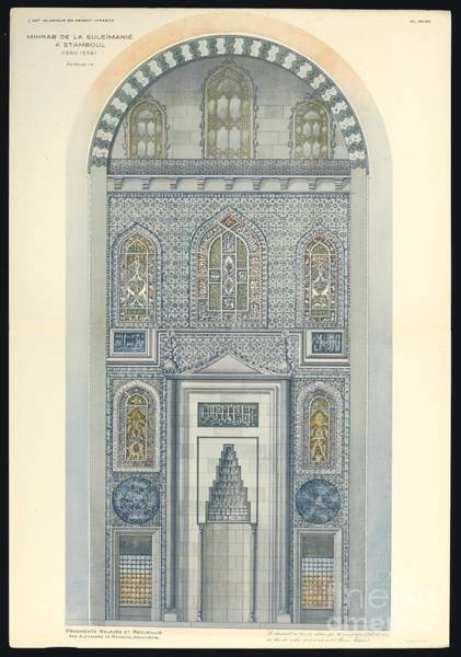Painting -  Islamic Art In East by Celestial Images
