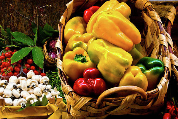 Photograph -  Italian Peppers  by Harry Spitz
