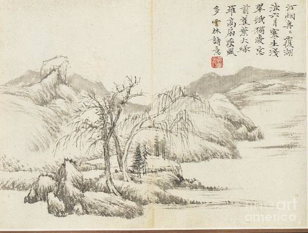 Chinese Buddha Painting -  Landscapes by Celestial Images