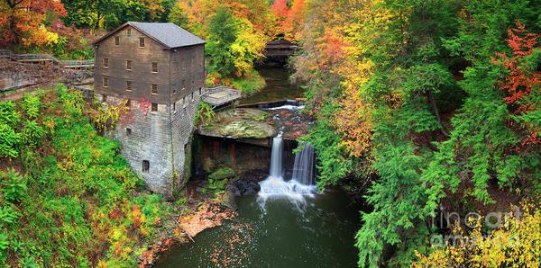 Photograph -  Lantermans Mill Pano  by Emmanuel Panagiotakis