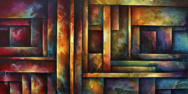 Wall Art - Painting -  ' Levels Of Order ' by Michael Lang