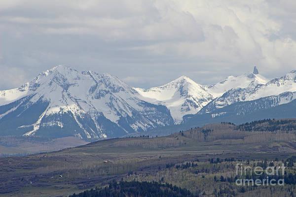 Fourteener Photograph -  Lizard Head Wilderness View Colorado by Dale Jackson