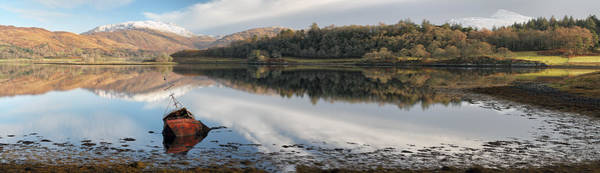 Photograph -  Loch Etive Panoramic by Grant Glendinning