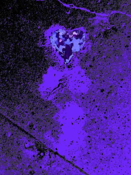Description Digital Art -  Love Walked On And Polished by Kenneth James