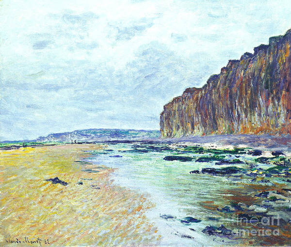 Painting -  Low Tide At Varengeville by Celestial Images