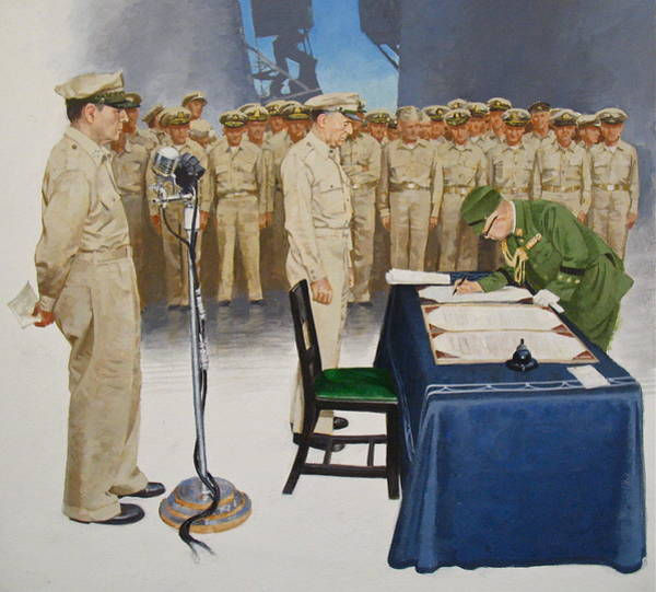 Painting -  Macarthur by Cliff Spohn
