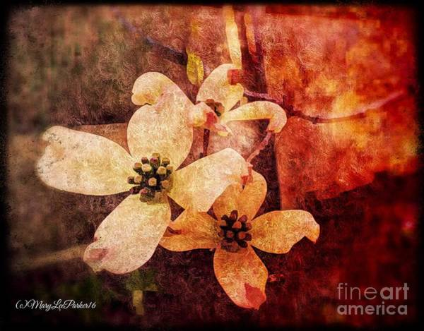 Blooming Tree Mixed Media -  Memories  by MaryLee Parker