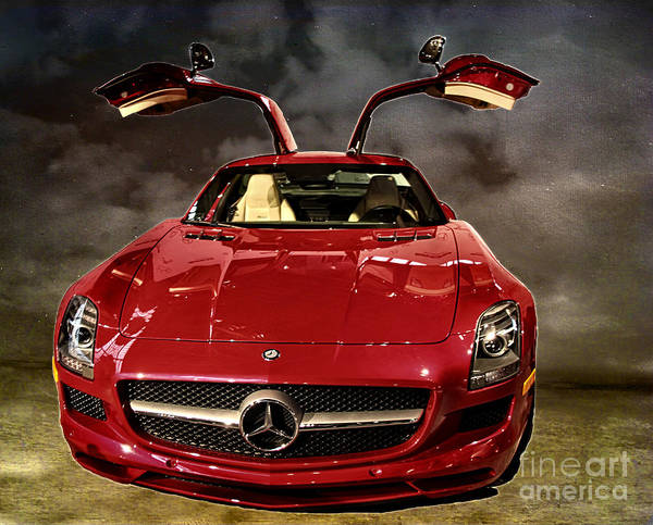 Wall Art - Photograph -  Mercedes-amg Gt by Tom Gari Gallery-Three-Photography