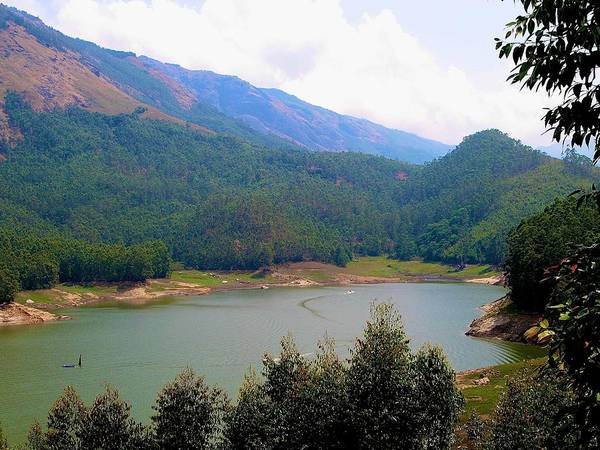 Kerala Photograph -  Mountain Lake  by Art Spectrum