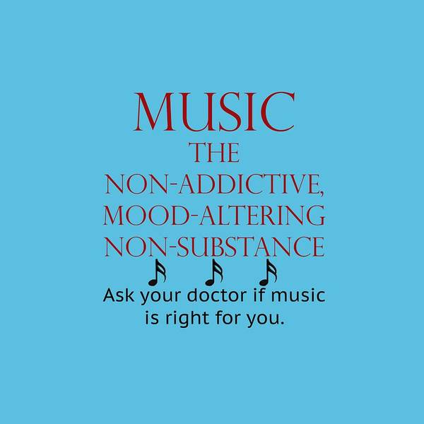 Photograph -  Music Mood Altering by M K Miller