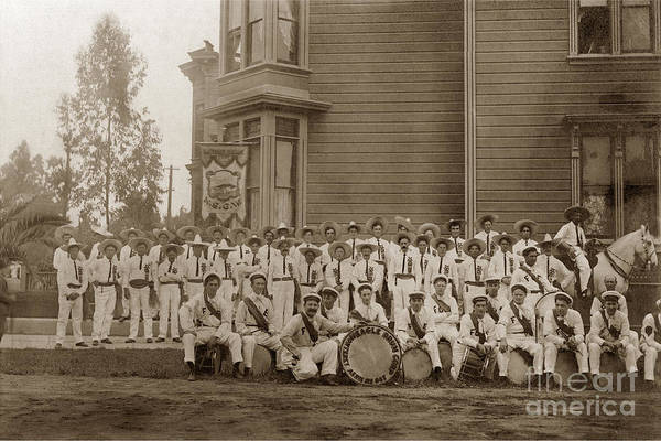 Photograph -  Native Sons Of The Golden West Sept. 9, 1908 by California Views Archives Mr Pat Hathaway Archives