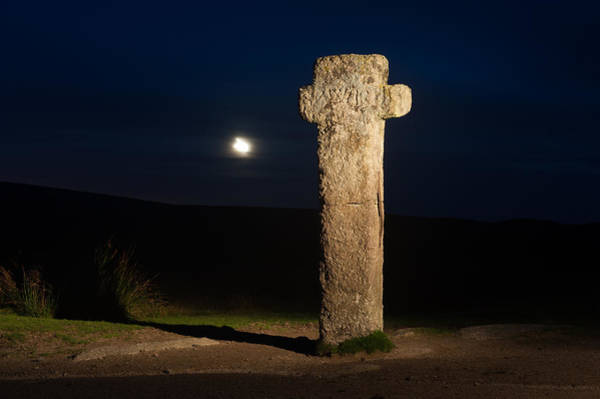 Photograph -  Nuns Cross After Sunset by Helen Northcott