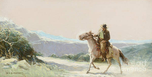 D.w Painting -  On The Trail by MotionAge Designs