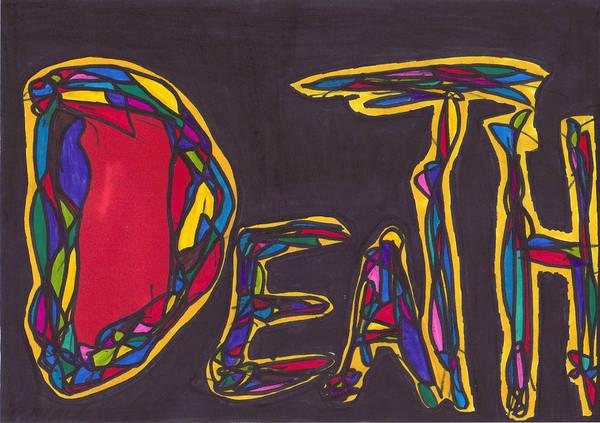 Pillar Of Death Art Print by Darrell Black