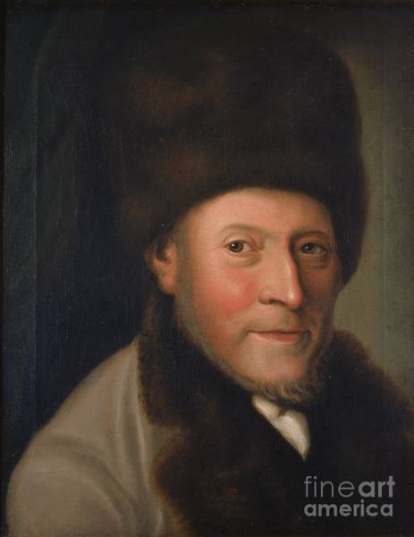 Painting -  Portrait Of Isaac Jacob Gans by Celestial Images