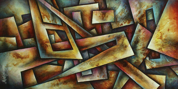 Wall Art - Painting -  ' Puzzled ' by Michael Lang