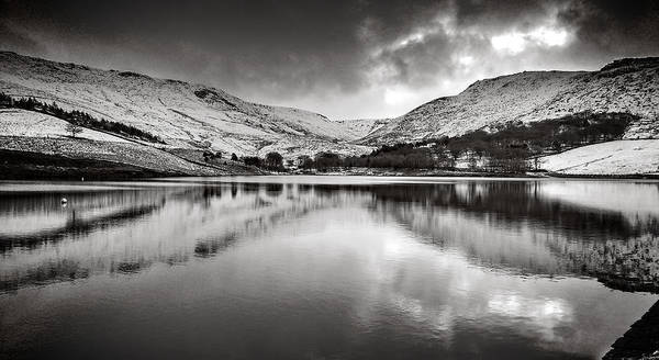 Greater Manchester Wall Art - Photograph -  Quiet Reflections by Tom Downing
