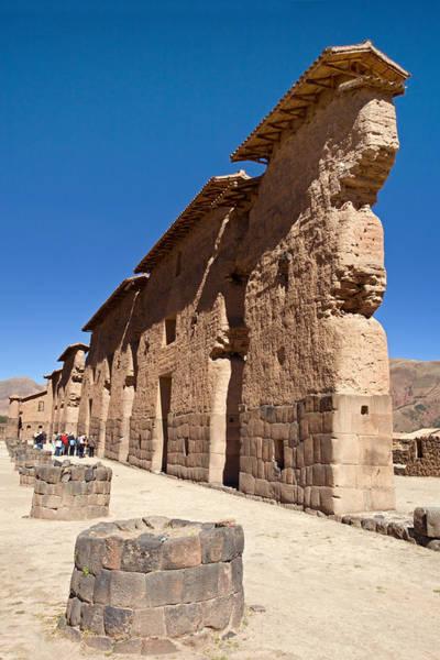 Photograph -  Raqchi Inca Ruins by Aivar Mikko