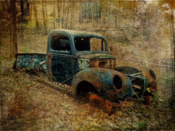 Photograph -  Resurrection Vintage Truck by Christina VanGinkel