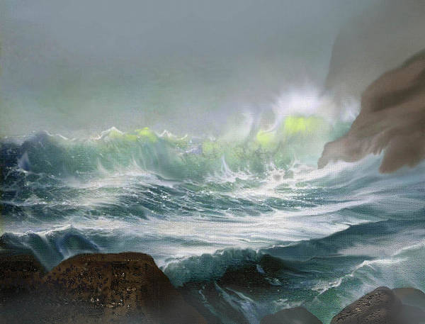 Wall Art - Painting -  Seaswell by Robert Foster