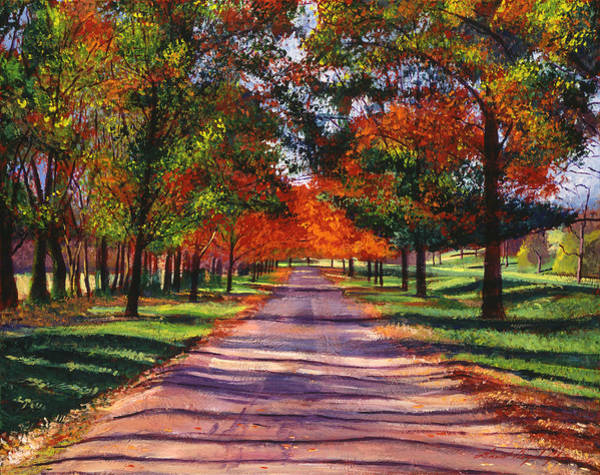 Wall Art - Painting -  September Country Song by David Lloyd Glover