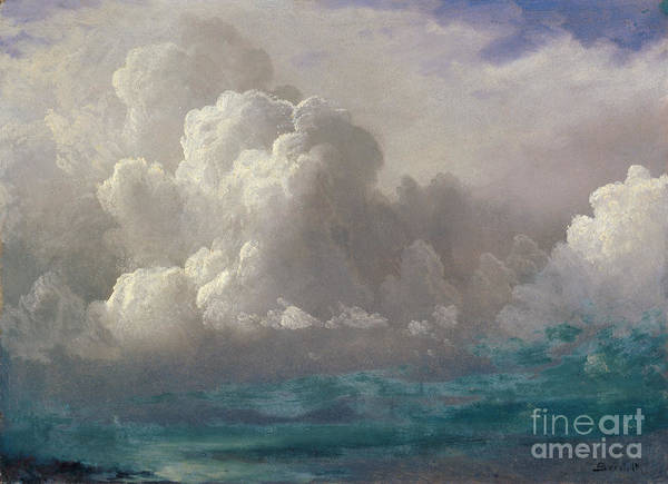 Painting -  Storm Clouds by Celestial Images