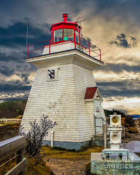 Photograph -  Stormy At Cape Enrage by Nick Zelinsky