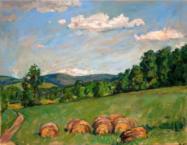 Porch Painting -  Summer Idyll Berkshires by Thor Wickstrom