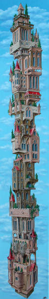 Painting -  The Castle Of Air by Victor Molev