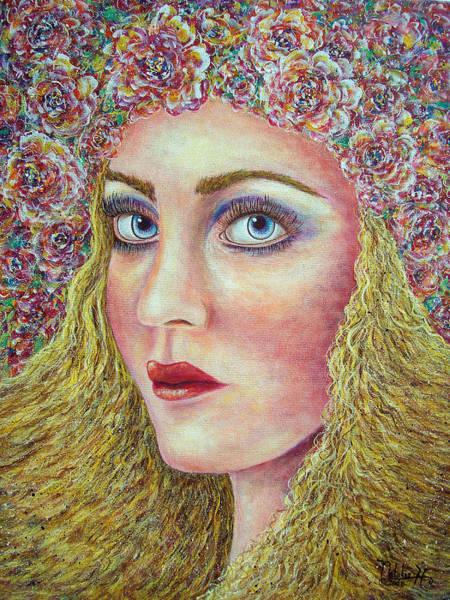 Eyeballs Painting -   The Flower Girl by Natalie Holland