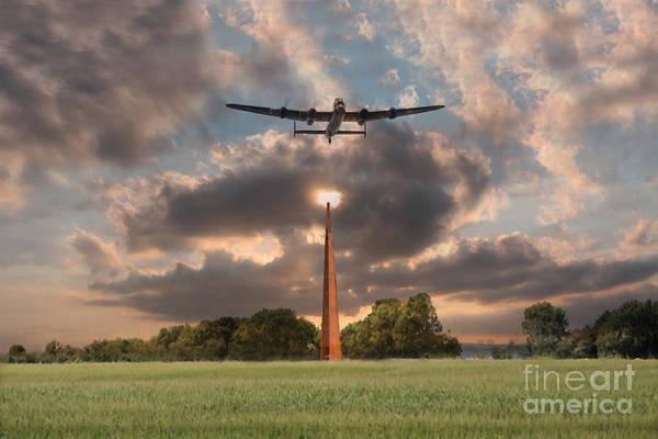 Tribute Digital Art -  The Memorial Spire by J Biggadike