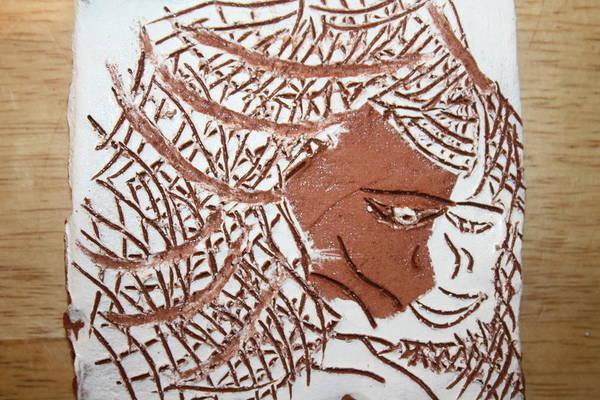 Ceramic Art -  Unity - Tile by Gloria Ssali