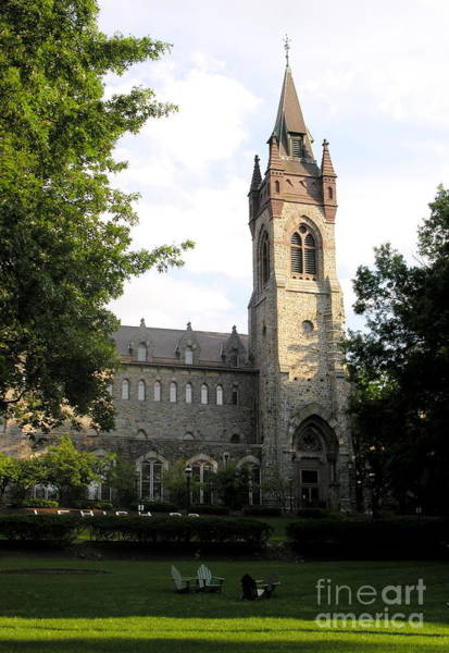 Lehigh University Wall Art - Photograph -  University Center - Lehigh University by Jacqueline M Lewis