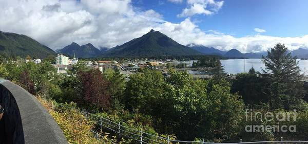 Photograph -  View From Top Of Castle Hill Sitka Alaska 2015 by California Views Archives Mr Pat Hathaway Archives